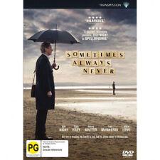 Sometimes Always Never (DVD, 2019)