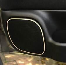 D Opel Astra G Chrom Rahmen für Türlautsprecher vorne unten - Edelstahl poliert