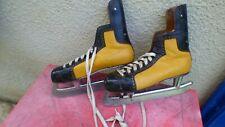 patins Hockey sur glace vintage  Kovosol  Professional Tchecoslovaquie 45