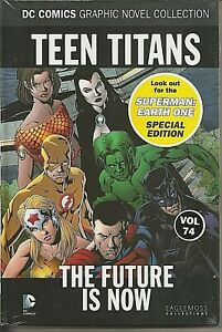 °TEEN TITANS: THE FUTURE IS NOW DC GRAPHIC NOVEL COLLECTION #74° English New