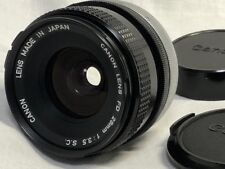 【Excellent +++++】Canon FD 28mm f/3.5 MF Wide Angle Lens from Japan
