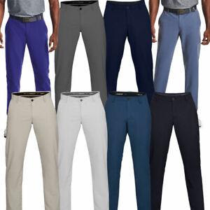 Under Armour Mens EU Performance Slim Taper Soft Stretch Golf Trousers / 2021