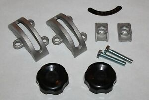 """14"""" Bandsaw Trunnion Clamp Shoes Knobs Set, For Grizzly Delta Rockwell Jet Rigid"""