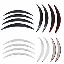 4Pcs Carbon Fiber Car Fender Wheel Eyebrow Protector Stickers Anti-Scratch Strip
