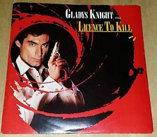 """Gladys Knight,Licence To Kill,Pre Owned 7"""" Vinyl,Excellent Condition"""
