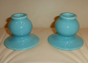Made in USA Pottery Candlestick Fiesta???