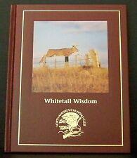 Whitetail Wisdom Book North American Hunting Club Deer Antler Bucks Doe