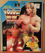 WWF WWE VINTAGE HASBRO TEXAS TORNADO FIGURE 1991 RARE SEALED French Canadian