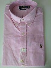 Polo Ralph Lauren Mens Pink Strip Shirt