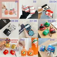 AirPods Silicone Case Cute 3D Cartoon Protective Cover For Apple AirPod Pro 2 /1