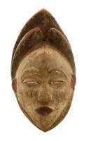 Maschera Africano Pounou Punu Gabon Arte Tribale Rituale Etnico 5087 M1