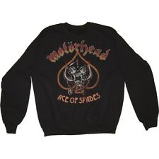 Medium Black Men's Motorhead Ace Of Spades Sweatshirt - Mens Vintage Long