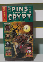 PINS FROM THE CRYPT TALES FROM THE CRYPT LAPEL PINS GAMING GEEK NEW BOX HANNIBAL