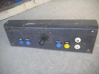 "ATARI metal control panel 23 5/8''-7 1/4 wide 7"" deep arcade game part"