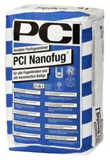 (2,93€/1kg) PCI NANOFUG ZEMENTGRAU - Für alle Fugenbreiten - 15 kg Mörtel Fugen