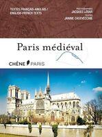 PARIS Médiéval - Janine Casevecchie - Du Chêne - Bilingue Français - Anglais