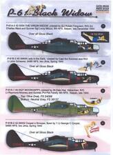 Print Scale Decals 1/48 Northrop P-61 Black Widow Part 1