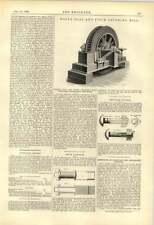 1888 Hall Carbone Pitch Frantumatore STARK dado di bloccaggio Company