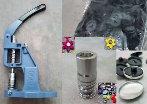 Kit machine à pression pour Gainage bouton à coudre Outil presse bouton à coudre