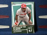 2020 Topps Series 2 Joe Morgan SP Warriors of the Diamond WOD-2 Cincinnati Reds