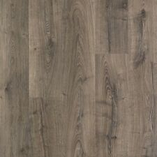 Laminate Wood Flooring Vintage Pewter Oak Neutral Tone Home Decor Wear Protected