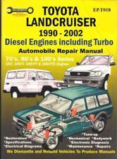 TOYOTA LANDCRUISER,70,80,100 SERIES 4.2 DIESEL,TURBO WORKSHOP MANUAL 1990-2002