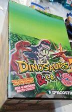 De Agostini Dinosaurs & Co. Super Maxxi  kompletter Karton 12 Dinos Geschweißt