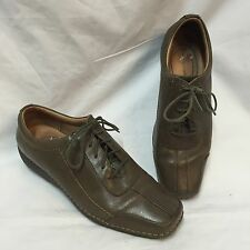Rockport DMX Shoes Closed Toe Womens 7.5 M Casual Oxfords Lace-Up Leather Square