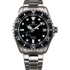 New Grand Seiko Spring Drive Men's Dive Titanium Watch SBGA231
