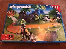 Playmobil Super Set 3136 Spurensuche Spurensicherung Polizei Hund Dieb