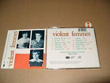 Violent Femmes By Violent Femmes 1982 cd Ex + / Booklet very good