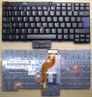 Genuine Keyboard for IBM Lenovo ThinkPad X201 X201S X201I X201T Laptop