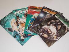 Comic Book Lot Animal Mystic Water Wars Dark One Books 1 - 5
