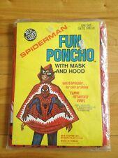 spiderman fun poncho 1976 ben cooper