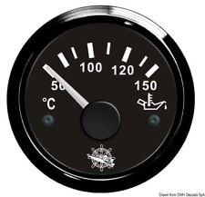 Indicatore temperatura olio 50/150° nero/nera | Marca Osculati | 27.320.09