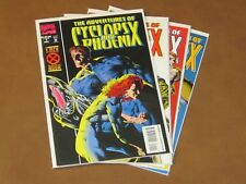 THE ADVENTURES OF CYCLOPS AND PHOENIX #1 - 4 VF COMPLETE SET CABLE GENE HA ART