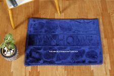 Absorbent Non-slip Cobblestone Rug Door Mat Kitchen Bathroom Floor Mat Carpet AU