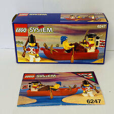 Lego Pirates 6247 Bounty Boat Complete With box & Instructions Mint Condition