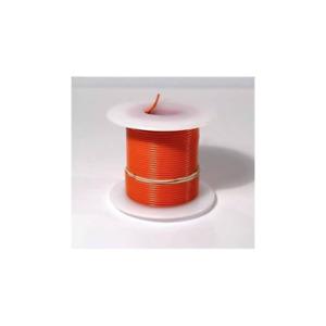 Elenco 884430 Orange 22 AWG Solid 25 ft.