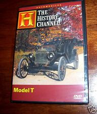 FORD MODEL T Antique Cars Car Autos Detroit Automotive History Channel DVD NEW
