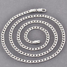 Cool White Gold Filled Silver Mens Links Chain Necklace Jewelry 20 Inches