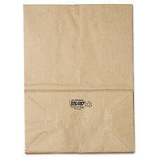 General 1/6 BBL Paper Grocery Bag 57lb Kraft Standard 12 x 7 x 17 500 bags