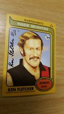 2016 Acheron Mints Inside Seventies (8) Ken FLETCHER Essendon HAND SIGNED RARE