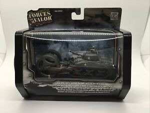 Forces Of Valor 85024 U.S. M4A1 Sherman Tank With Mine Roller Normandy 1/72