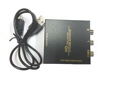 Mini RCA/AV 3RCA Composite Video  AV To HDMI Converter for TV/PC/PS3/Xbox -Metal