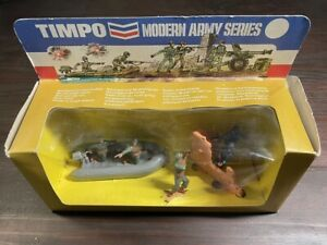 Timpo Modern Army Series Boxed - WW2 US/ German Infantry -1970's