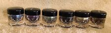Younique Moodstruck Minerals Eye Pigments Set Of 6 Travel Size Eyeshadow- New 02