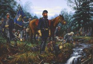 "John Paul Strain Stonewall Jackson Civil War Collectible ""Destination Manassas"""