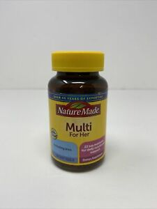 Nature Made Women's Multivitamin Dietary Supplement 60 Softgel Exp 10/21
