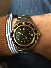 OMEGA seamaster 200m Automatic 18k Gold Pre Bond 200 M Prebond Wie Neu !!!!!!!!!